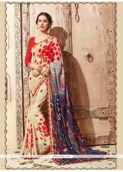 Charming Multi Colour Casual Saree