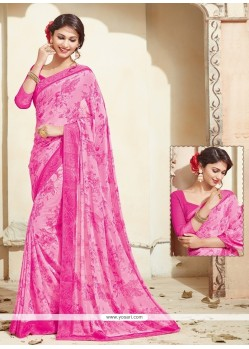 Breathtaking Georgette Casual Saree