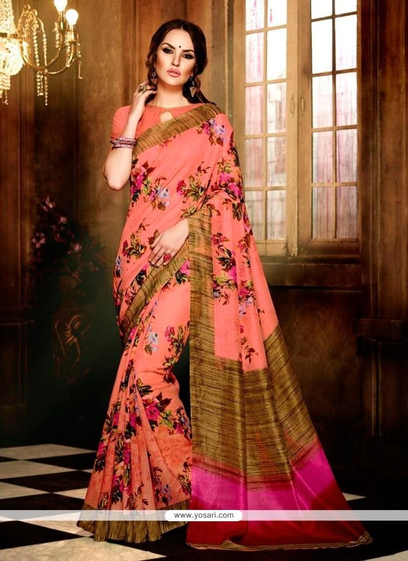 Blissful Handloom Silk Casual Saree