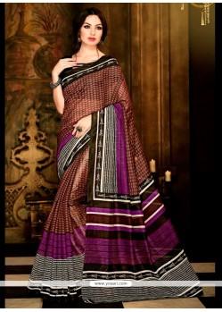 Festal Multi Colour Casual Saree