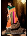 Lordly Print Work Casual Saree