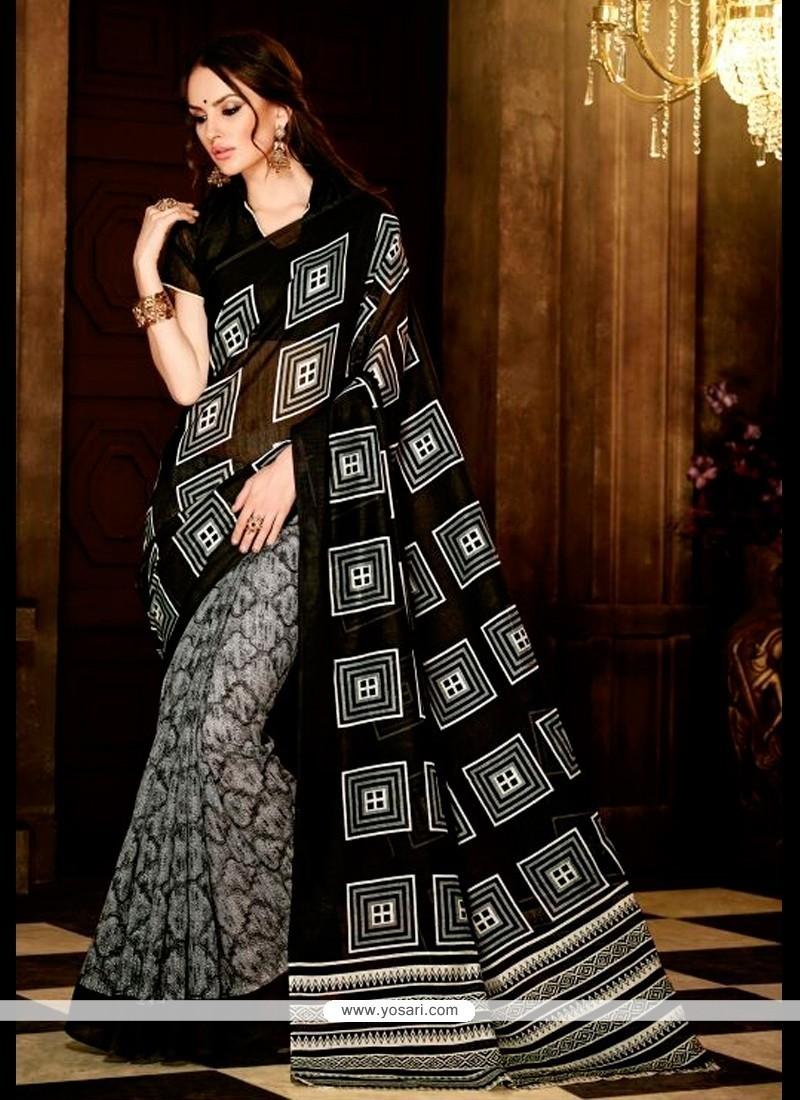 Baronial Handloom Silk Casual Saree