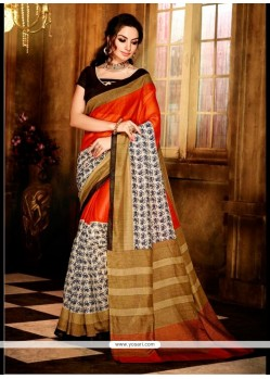 Lovable Handloom Silk Multi Colour Casual Saree