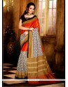 Lovable Handloom Silk Multi Colour Casual Saree