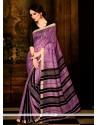 Spellbinding Multi Colour Handloom Silk Casual Saree