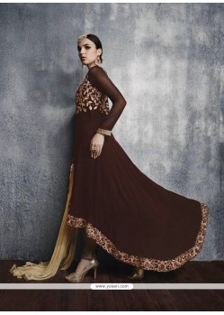 Princely Brown Designer Suit