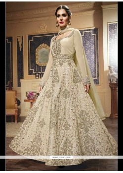 Divine Resham Work Anarkali Salwar Kameez