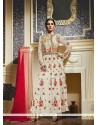 Gratifying Georgette Embroidered Work Anarkali Salwar Kameez