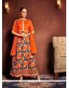 Fab Bhagalpuri Silk Designer Suit