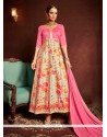 Thrilling Multi Colour Print Work Designer Suit