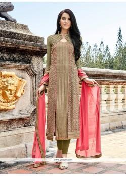 Elegant Resham Work Designer Suit