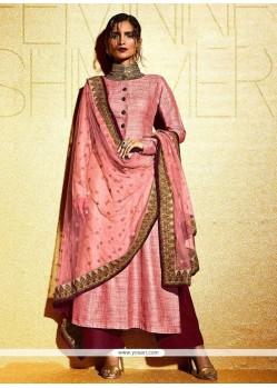 Appealing Pink Salwar Suit