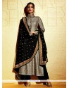 Excellent Grey Salwar Suit