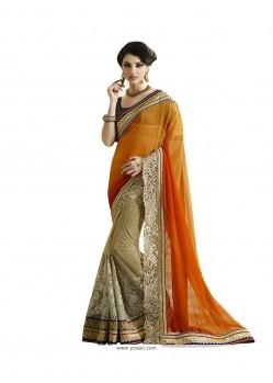 Opulent Fancy Fabric Designer Saree