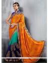 Prime Georgette Multi Colour Classic Designer Saree