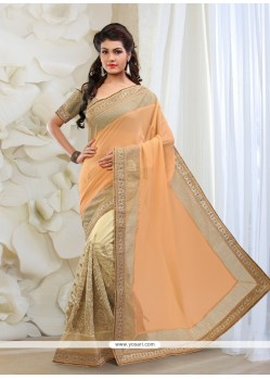 Orphic Net Embroidered Work Classic Designer Saree