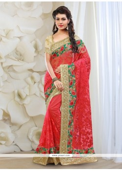 Perfervid Net Red Classic Designer Saree