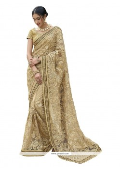 Intricate Patch Border Work Classic Designer Saree