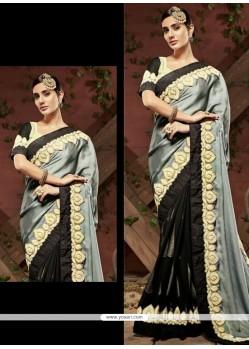 Regal Embroidered Work Designer Saree