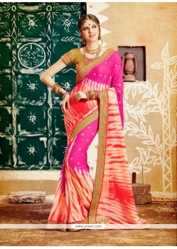 Gorgonize Patch Border Work Designer Saree