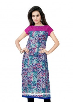 Modern Multi Colour Casual Kurti