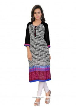 Modern Multi Colour Party Wear Kurti