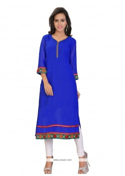 Transcendent Georgette Party Wear Kurti
