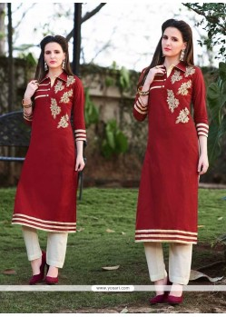 Renowned Cotton Designer Kurti