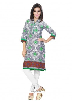 Nice Multi Colour Casual Kurti