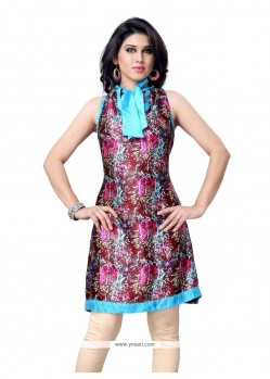 Irresistible Multi Colour Casual Kurti