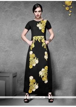 Floral Georgette Designer Kurti