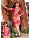 Superlative Georgette Embroidered Work Designer Kurti