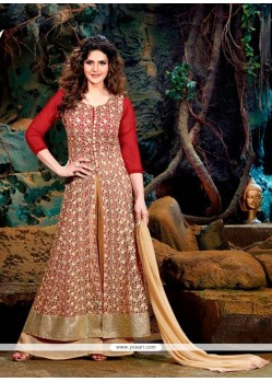 Voluptuous Georgette Designer Suit