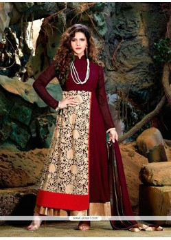 Alluring Patch Border Work Designer Suit