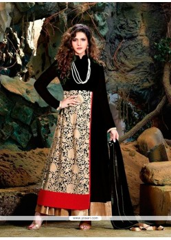 Absorbing Embroidered Work Designer Suit