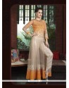 Ravishing Beige Designer Suit