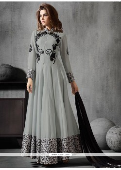 Refreshing Georgette Anarkali Salwar Kameez