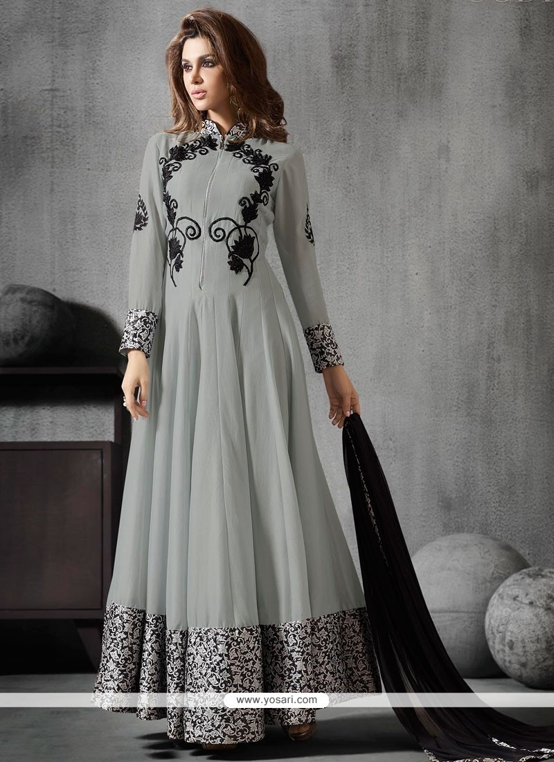 Refreshing Georgette Anarkali Salwar Kameez