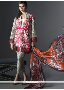 Sorcerous Multi Colour Print Work Georgette Designer Suit