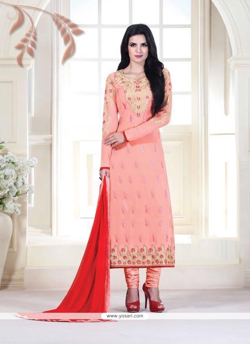 Delightful Pink Designer Suit