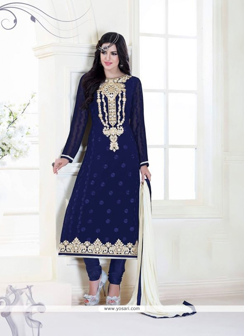 Shop online congenial navy blue designer suit for Online suit builder