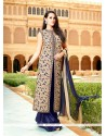 Best Resham Work Bhagalpuri Silk Designer Suit