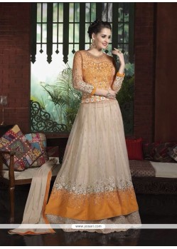 Fabulous Patch Border Work A Line Lehenga Choli