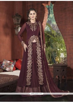 Catchy Embroidered Work A Line Lehenga Choli