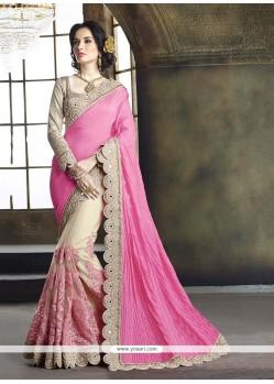 Cute Tussar Silk Classic Designer Saree