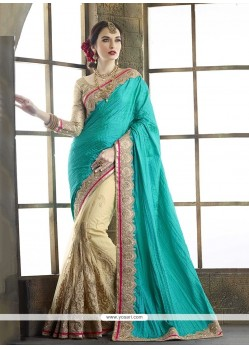 Subtle Embroidered Work Classic Designer Saree