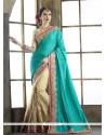 Subtle Embroidered Work Classic Designer Saree