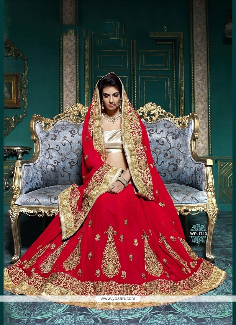 Vehemently Embroidered Work Classic Designer Saree