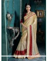 Enchanting Georgette Embroidered Work Classic Designer Saree