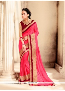Tempting Lycra Designer Saree